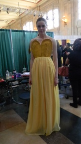 Behind the scenes with L.O.D.'s finale dress