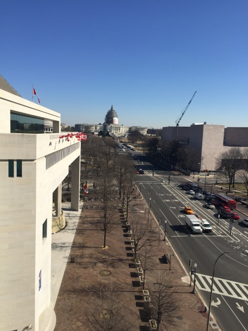 Washington, D.C.: view from the Newseum.